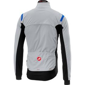 Castelli Alpha Ros Jacket Herren silver gray/black